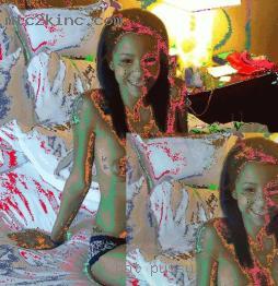 Clip ebony nude